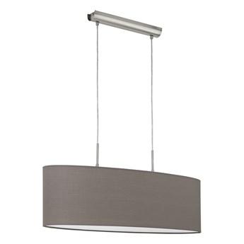 Eglo 96382 - Lampa wisząca PASTERI 2xE27/60W/230V brązowy 750mm