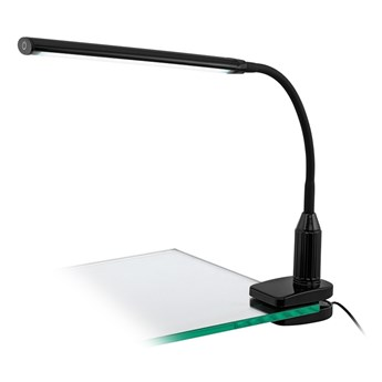 Eglo 96437 - LED Lampa z klipsem LAROA LED/4,5W/230V czarny
