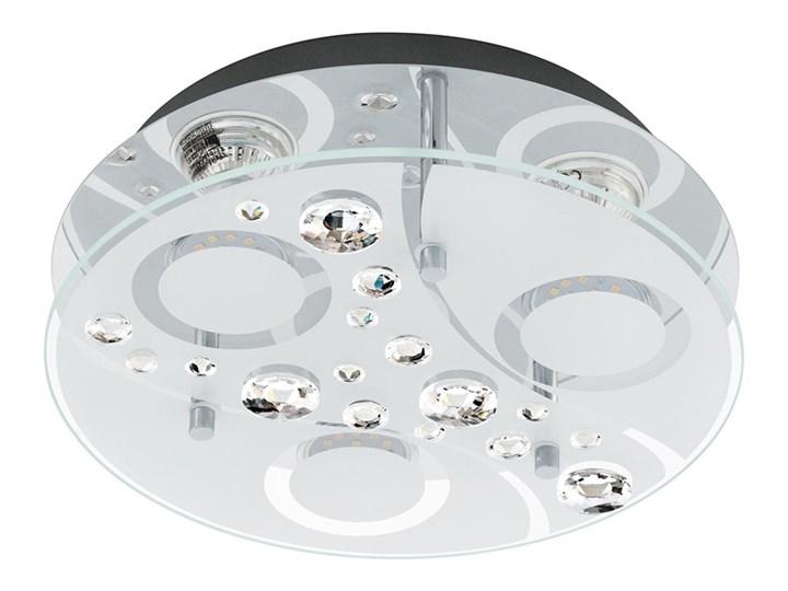 Eglo 96998 - LED Plafon AQUILA 3xGU10/3W/230V Metal Szkło Styl Klasyczny Styl Glamour