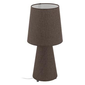 EGLO 97133 - Lampa stołowa CARPARA 2xE27/12W/230V