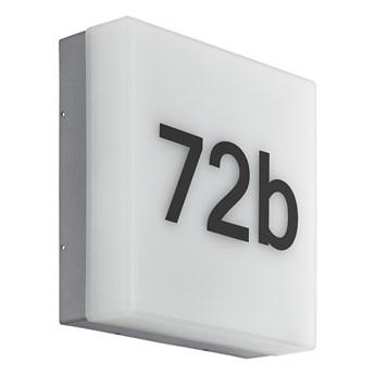 Eglo 97289 - LED numer domu CORNALE LED/8,2W/230V