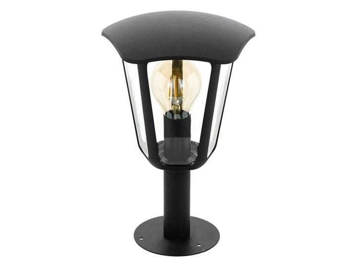 Eglo 98122 - Lampa zewnętrzna MONREALE 1xE27/60W/230V IP44 wysokość 335 czarna Lampa stojąca Kolor Czarny
