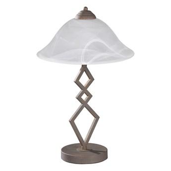 Fischer & Honsel 50122 - Lampa stołowa BERGAMO 1xE27/40W/230V