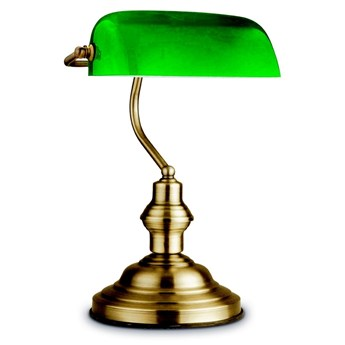 Globo 24934 - Lampa stołowa ANTIQUE BANK 1xE27/60W/230V