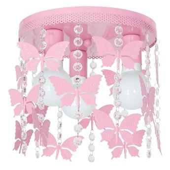 Lampa dziecięca ELZA butterflies 3xE27/60W/230V