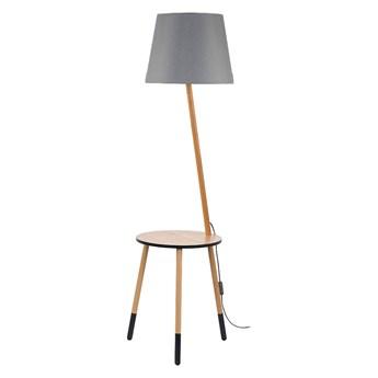 Lampa podłogowa LAMA 1xE27/60W/230V szary