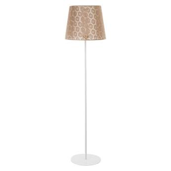 Lampa podłogowa SYMPHONY 1xE27/40W/230V brązowy