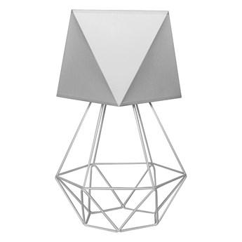 Lampa stołowa ADAMANT LARGE 1xE27/60W/230V szary