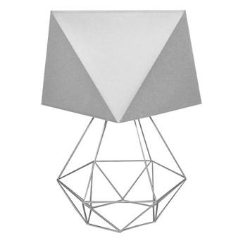 Lampa stołowa ADAMANT SMALL 1xE27/60W/230V szary