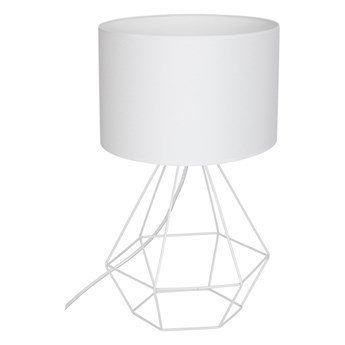 Lampa stołowa ALMA 1xE27/60W/230V biały