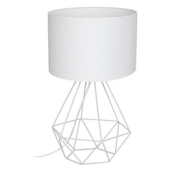 Lampa stołowa BASKET 1xE27/60W/230V biały