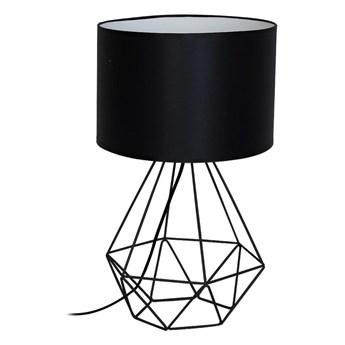 Lampa stołowa BASKET 1xE27/60W/230V czarny