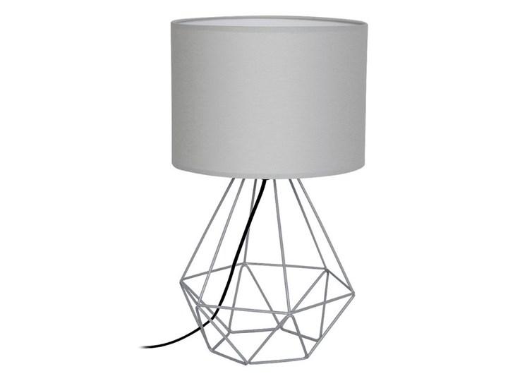 Lampa stołowa BASKET 1xE27/60W/230V szary Wysokość 44 cm Lampa nocna Kategoria Lampy stołowe Styl Nowoczesny