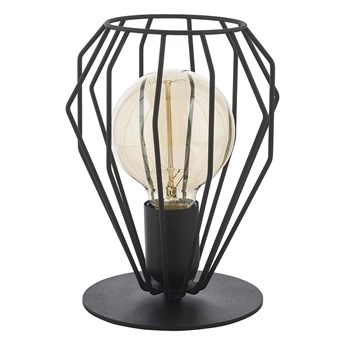 Lampa stołowa BRYLANT BLACK 1xE27/60W/230V