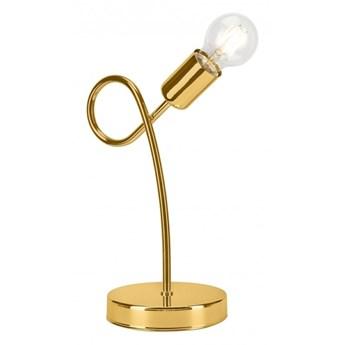 Lampa stołowa CAMILLA 1xE27/60W/230V złota