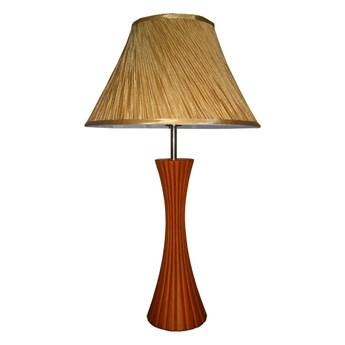 Lampa stołowa SIGLO wiśniowe drewno