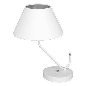 Lampa stołowa VICTORIA 1xE27/60W/230V biały