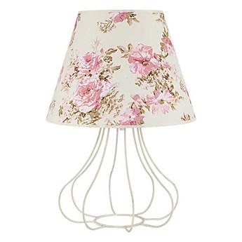Lampa stołowa VIOLIN 1xE27/40W/230V 490 mm róża