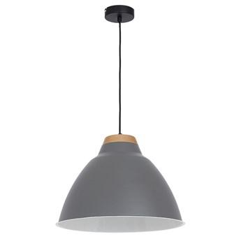 Lampa wisząca SKAL 1xE27/60W szara