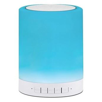 LED RGB ściemnialna lampa stołowa z głośnikiem FUNNY 5W/230V