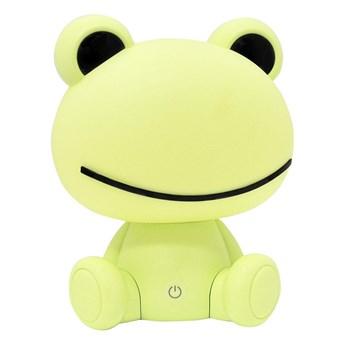 LED Ściemnialna dziecięca lampka nocna 2,5W/230V zielona żaba