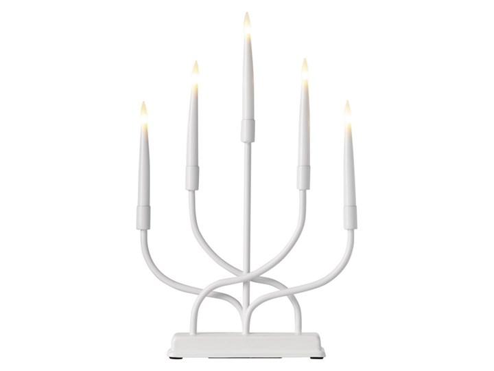 LED Świecznik świąteczny 5xLED/0,2W/2xAA