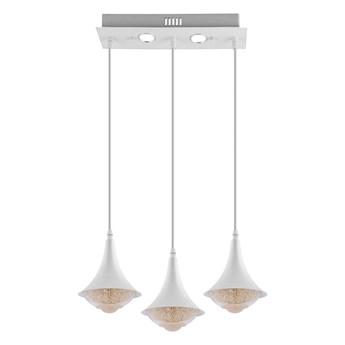 LED Żyrandol 3xLED/9W/230V biały