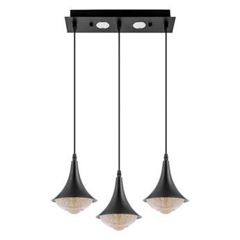LED Żyrandol 3xLED/9W/230V czarny