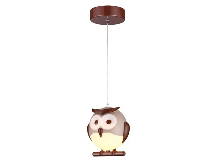 LED Żyrandol dziecięcy na lince 1xLED/5W/230V sowa