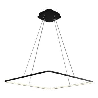 LED Żyrandol na lince NIX LED/25W/230V czarny
