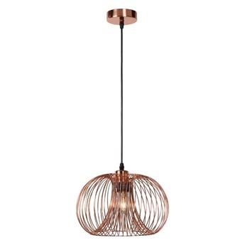 Lucide 02400/30/17 - Lampa wisząca VINTI 1xE27/60W/230V miedziana