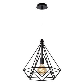 Lucide 06496/37/30 - Lampa wisząca RICKY 1xE27/60W/230V czarna
