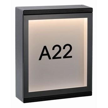 Lucide 27879/06/30 - LED Kinkiet zewnętrzny CADRA LED/6W/230V