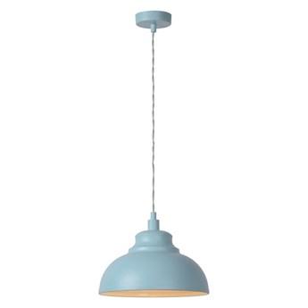 Lucide 34400/29/68 - Lampa wisząca ISLA 1xE14/40W/230V niebieska