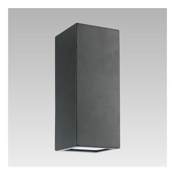 Luxera 65252 - Kinkiet zewnętrzny BLOCK 2xLED/1,5W/230V