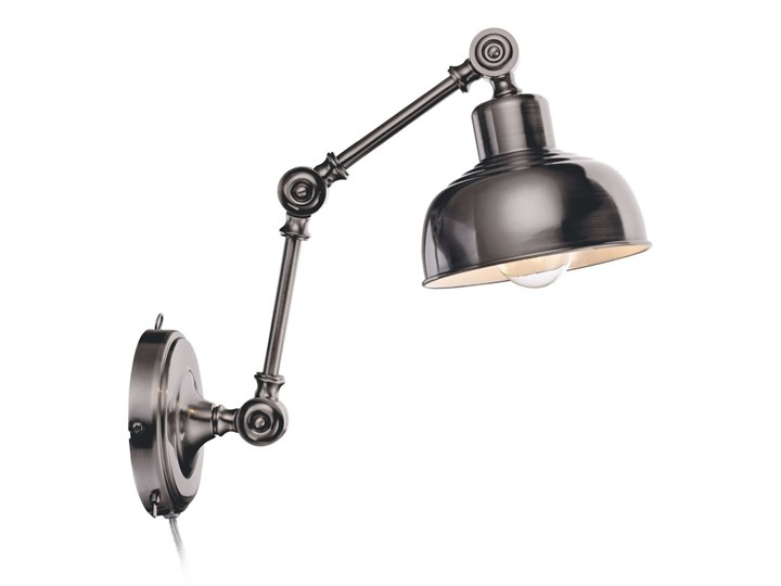 Markslöjd 105052 - Kinkiet GRIMSTAD 1xE27/40W/230V Kinkiet z kablem Metal Styl Vintage Kategoria Lampy ścienne