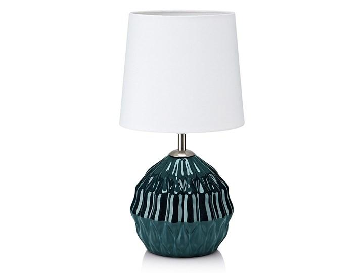 Markslöjd 106882 - Lampa stołowa LORA 1xE14/40W/230V zielona Kategoria Lampy stołowe Lampa dekoracyjna Wysokość 35 cm Kolor Biały