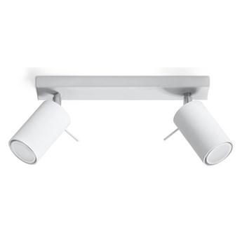 Oświetlenie punktowe RING 2 2xGU10/40W/230V biały