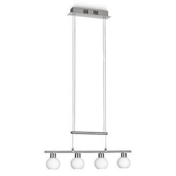 Philips 39125/17/16 – LED Ściemnialny żyrandol na lince 4xLED/3,6W/230V biały