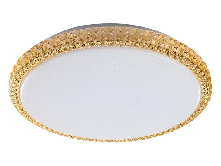 Prezent 71314 - LED Plafon AMBIA LED/48W/230V żółty Tworzywo sztuczne Metal Kolor Złoty
