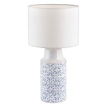 Rabalux 4309 - Lampa stołowa AGNES 1xE27/60W/230V niebieski