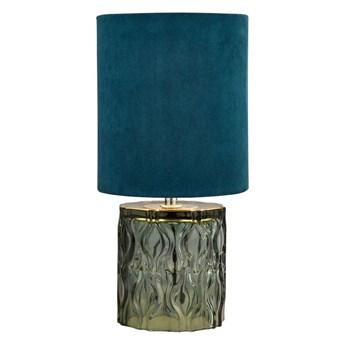 Searchlight EU700749 - Lampa stołowa LOMO 1xE27/10W/230V niebieski