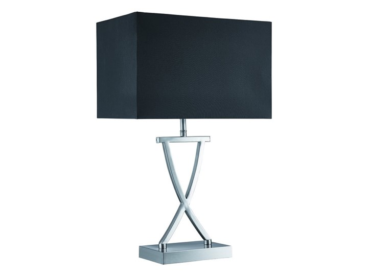 Searchlight - Lampa stołowa CLUB 1xE14/40W/230V Kategoria Lampy stołowe Wysokość 49 cm Lampa z abażurem Kolor Czarny