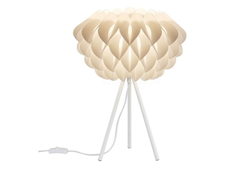 TRIO - Lampa stołowa TILIA 1xE14/40W/230V Wysokość 50 cm Lampa z abażurem Kolor Beżowy