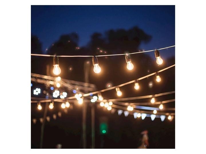 Zewnętrzny łańcuch dekoracyjny GIRLANDA 15 m 15xE27/10W/230V IP44 Kategoria Lampy ogrodowe Lampa wisząca Kolor Czarny