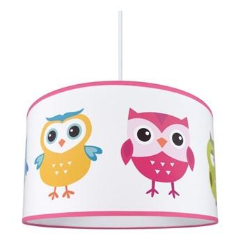 Żyrandol dziecięcy na lince OWLS 1xE27/60W/230V