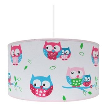 Żyrandol dziecięcy OWLS 1xE27/60W/230V biały