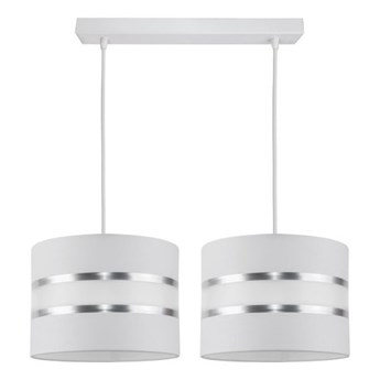 Żyrandol na lince CORAL 2xE27/60W/230V biały