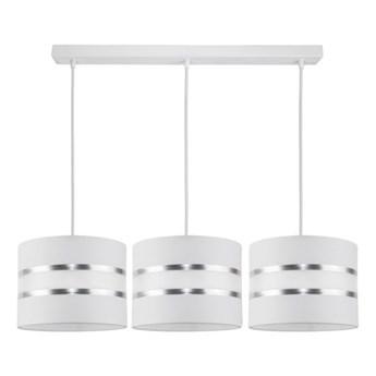 Żyrandol na lince CORAL 3xE27/60W/230V biały