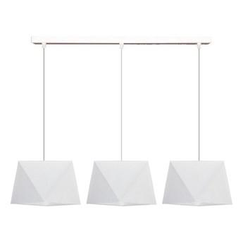 Żyrandol na lince DIAMENT 3xE27/60W/230V biały